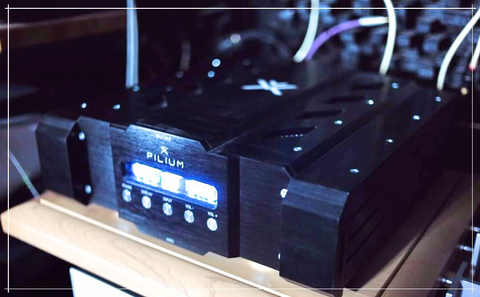 Pilium Audio Brutale Series, The Ares Preamplifier (Line stage)